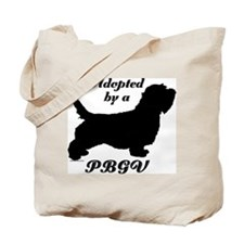 ADOPTED by a PBGV Tote Bag