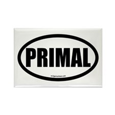 Primal auto decal health fitness Rectangle Magnet