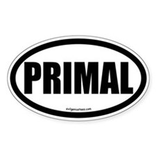Primal auto decal health fitness Decal