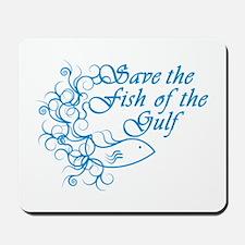 Fish of the Gulf Mousepad