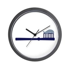 Toothbrush Wall Clock