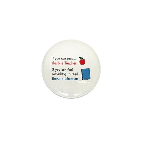 Teacher...Librarian Mini Button (100 pack)