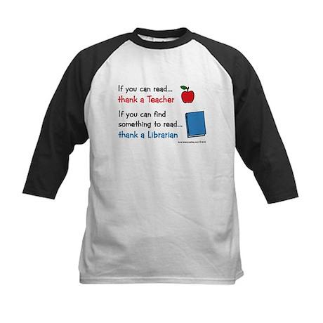 Teacher...Librarian Kids Baseball Jersey