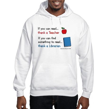 Teacher...Librarian Hooded Sweatshirt