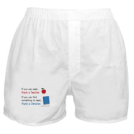 Teacher...Librarian Boxer Shorts