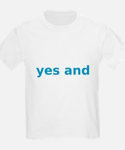yesandbluetext T-Shirt