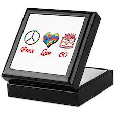 Unique Love peace Keepsake Box