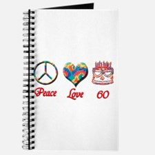 Cute 60th birthday Journal