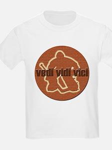 Vedi Vidi Vici Goaltender Kids T-Shirt