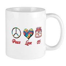 peace love 65 copy Mugs