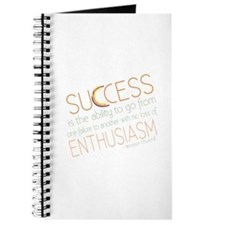 Success Inspiration Quote Journal