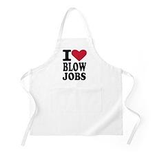 I love blowjobs Apron