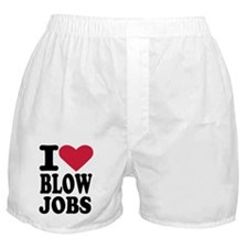 I love blowjobs Boxer Shorts