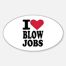 I love blowjobs Decal