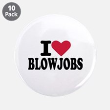 "Blowjob 3.5"" Button (10 pack)"