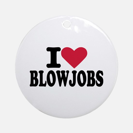 Blowjob Ornament (Round)