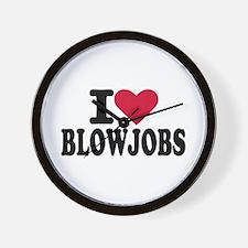 Blowjob Wall Clock