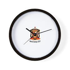Funny Espana 2010 Wall Clock