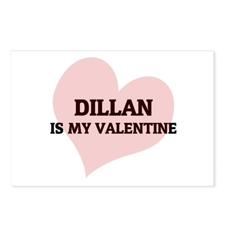 Dillan Is My Valentine Postcards (Package of 8)