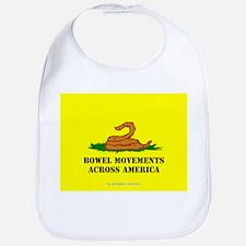 Bowel Movement Across America Bib