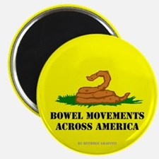 Bowel Movement Across America Magnet