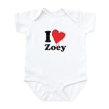 I heart zoey Infant Bodysuit