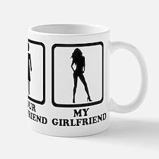 Your girlfriend my girlfriend Mug