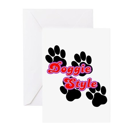 Doggie Style Greeting Cards (Pk of 10)