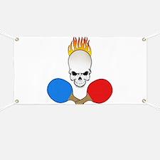 Skull Pong Banner