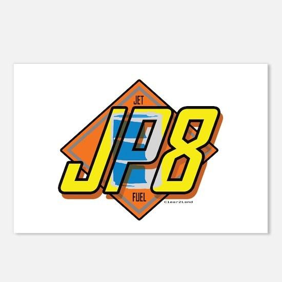 JP8 Postcards (Package of 8)