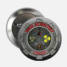 """Mad Scientist Union 2.25"""" Button"""