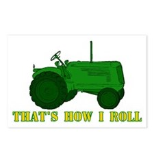 Tractor: That's How I Roll Postcards (Package of 8