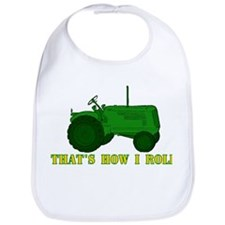 Tractor: That's How I Roll Bib