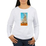 Double Ferris Wheel At The Pi Women's Long Sleeve