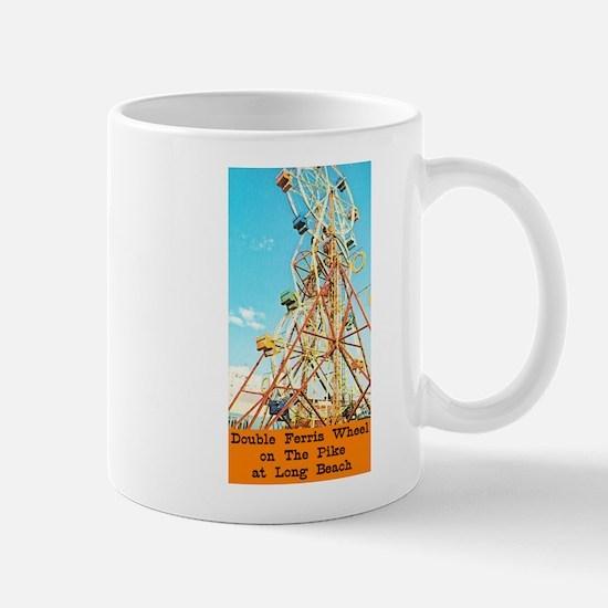 Double Ferris Wheel At The Pi Mug
