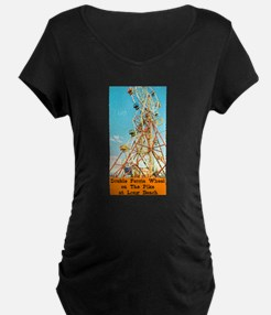 Double Ferris Wheel At The Pi T-Shirt