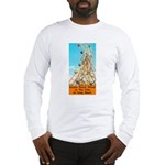 Double Ferris Wheel At The Pi Long Sleeve T-Shirt