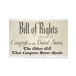 Bill of Rights Rectangle Magnet (10 pack)