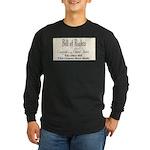 Bill of Rights Long Sleeve Dark T-Shirt