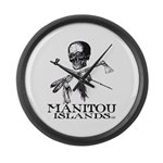 Manitou Islands Large Wall Clock