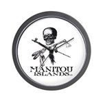 Manitou Islands Wall Clock