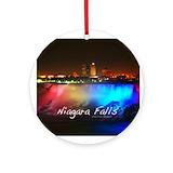 Niagara falls Round Ornaments
