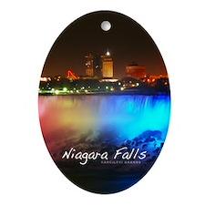 Niagara Falls Ornament (Oval)