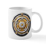 Silver Pentacle w/gold Mug