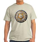 Silver Pentacle w/gold Light T-Shirt