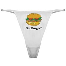Got Burger Classic Thong