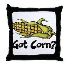Got Corn? Throw Pillow