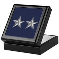 Major General Tile Insignia Box