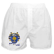 Wood Family Crest Boxer Shorts