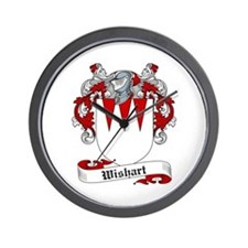 Wishart Coat of Arms Wall Clock